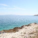 passeggiata sulla costa Duga Luka