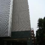 Asia Center of Japan Hotel - main entrance