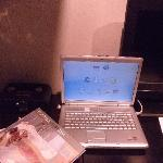 PC, TV and radio in the room