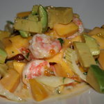 Mango, Shrimp, and Avocado Salad
