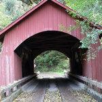 North Fork Yachats River Covered Bridge, Yachats, Oregon