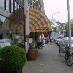 street beside hotel