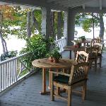 Bufflehead Cove porch