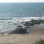 View from room at low tide. Starfish, sea anemones, etc.