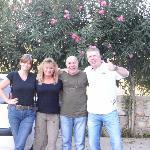 von links Jeanne, Ayse (Astrid), Ali (Albert) und Atilla
