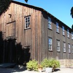 redwood barn