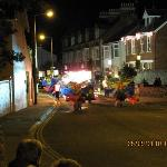 Decorated for the Sidmouth parade