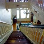 the lovely interior--stairs made famous in My Girl
