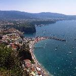 Beautiful Amalfi coast upon arrival with limousine