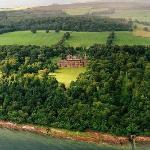 Aerial view of Mount Stuart