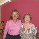 Delightful host Eileen