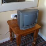 Very low set and basic TV