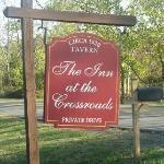 Sign at Driveway