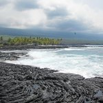 Lava Field & the Ocean