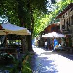 Crotto Belvedere - Haus und Terasse