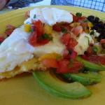 The Southwestern polenta breakfast was to die for!