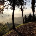 San Gimignano Morning walk around the city walls