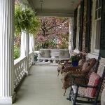 Front Porch at Kenmore Inn