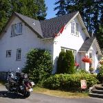 Our arrival at Charm of Qualicum