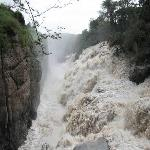 Awash River Falls, the second largest fills in Ethiopia, next to the Blue Nile Falls.