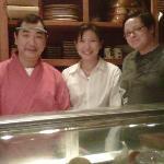 owner & 2 staff