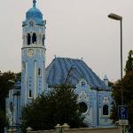 Modrý kostolík, Chiesa Blu