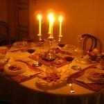 sweet dinner..