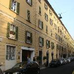 façade de Brera appartment