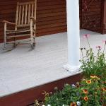 secret garden porch
