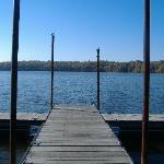 A dock on Lake Acton