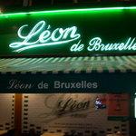 Leon de Bruxelles sign