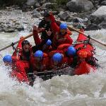 Try Catrafting on the Kicking Horse River