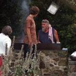Roy cooking!