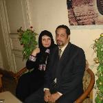 Me and Mr Alaa Omar