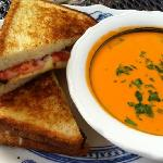 Classic fare in our Taproom....who doesnt love creamy tomato soup and a grilled cheese sandwhich