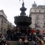 Eros at Piccadilly Circus near Criterion Theater
