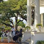 Carriage tour at Stanton Hall