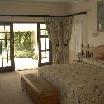 The Pearl room. Ideal for honeymoon couples