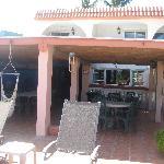 Top balcony /Breakfast area