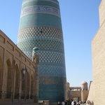 Khiva's main street