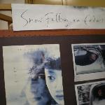 Greenwood博物館内のポスター