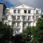 Hotel Metropole vom Rossio aus gesehen