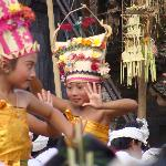 Rejang Dewa at the Balinese Ceremony