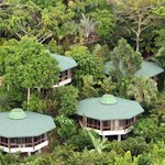 Tulemar Bungalows view from above