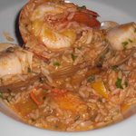 Seafood and Rice Casarole