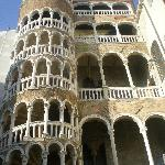 The renaissance palazzo next door
