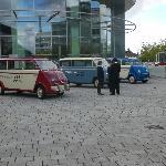 Tour mit historischen Transportern