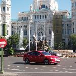 Palacio de Comunicacion and Plaza de Cibeles