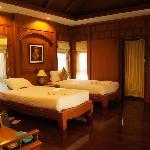 kamer met twin bedden