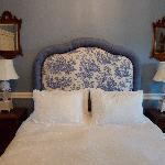 Blue Room bed on a cloud